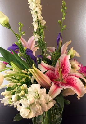 Fresh flowers are easy to order